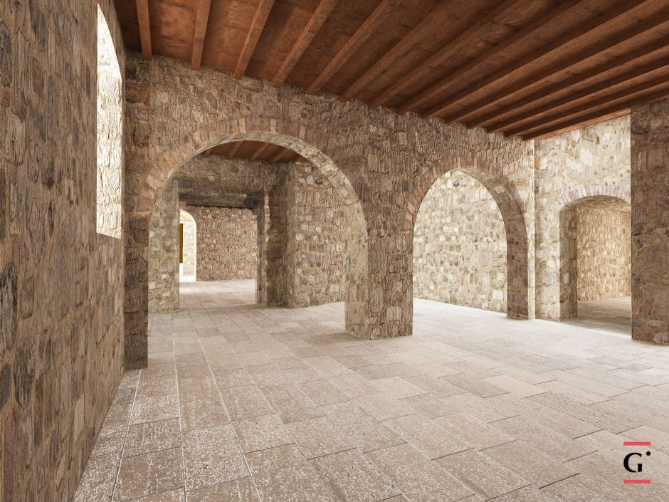 Romanesque Country Church Restoration and Regeneration