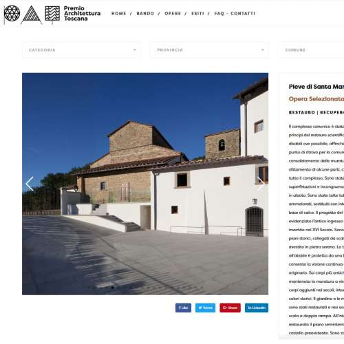 PAT - Prize for Architecture in Tuscany
